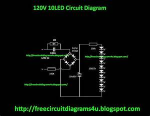 Free Circuit Diagrams 4u  120v 10 Led Circuit Diagram