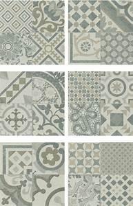 Faience Carreaux De Ciment : carrelage gris imitation d cor carreau ciment 45x45 cm ~ Premium-room.com Idées de Décoration