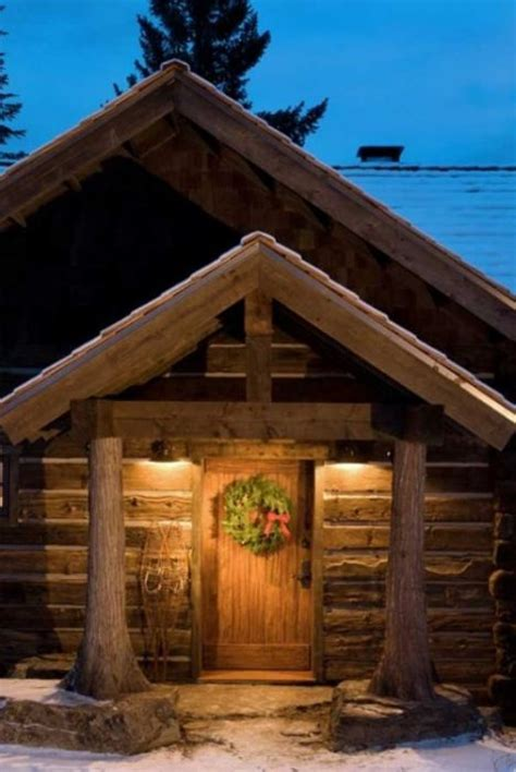 awesome log cabins  pics