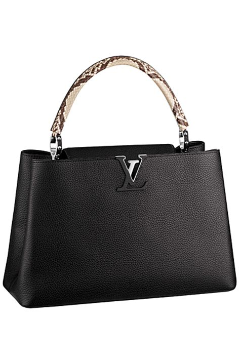louis vuitton capucines  lockit bag colors  fall winter  spotted fashion