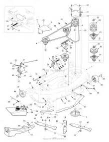 mtd 14ai808h731 2004 parts diagram for deck assembly 46 inch