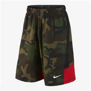 Nike Camo Shorts for Men