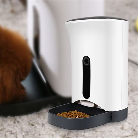 4 meal with lcd display luxury medium automatic pet feeder