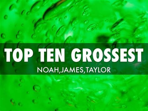 Science Top Ten By Hannale