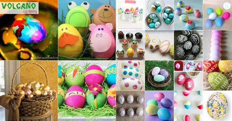 creative  fun easter egg decorating  craft ideas