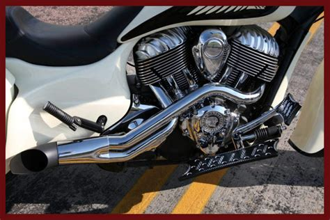 Indian Motorcycle Exhaust Peace Pipe Performance Exhaust