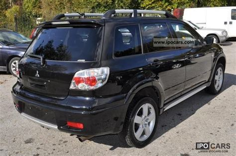 nissan outlander 2008 2008 mitsubishi outlander 2 4 4wd intense car photo and