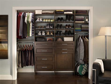 cleaned  mens closet contemporary closet