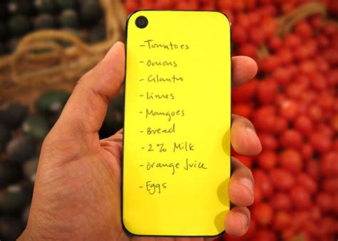 Apple Iphone Sticky Note Pad