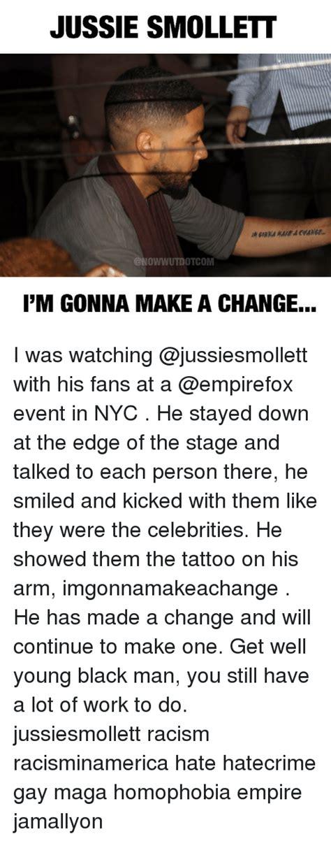 jussie smollett pm gonna   change   watching