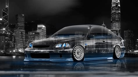 honda civic coupe jdm tuning crystal city car  el