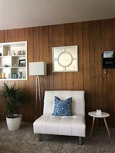 Ugly, 70s, Wood, Paneling, In, Our, Outdated, Apartment