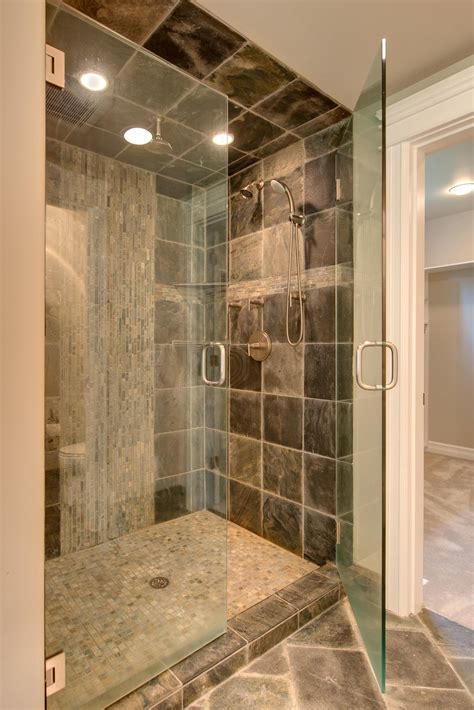awesome tile showers bathroom tiles awesome stone gray ceramic wall tiled excerpt tile shower loversiq
