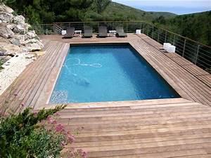 margelles piscine bois myqtocom With plage piscine sans margelle 8 plage et margelles piscine quels materiaux choisir