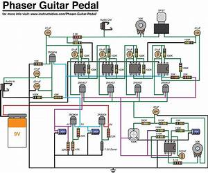 Guitar Effects Pedals Circuit Diagrams