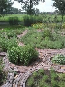 Brick Herb Garden