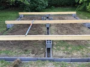 Sur Quoi Poser Un Abri De Jardin : fondations abri de jardin 20m construction et auto ~ Dailycaller-alerts.com Idées de Décoration