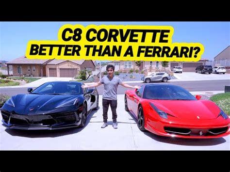 2020 corvette c8 widebody imagined with ferrari testarossa cues. 2020 C8 Corvette vs. Ferrari 458: How Does it Stack Up? - MidEngineCorvetteForum.com
