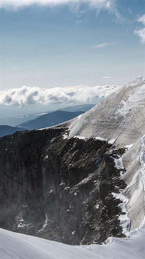 Wallpaper Mountain peak, Microsoft Surface Laptop, Stock