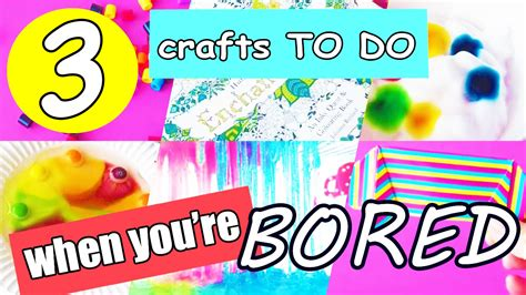 crafts    bored  home easy craft ideas