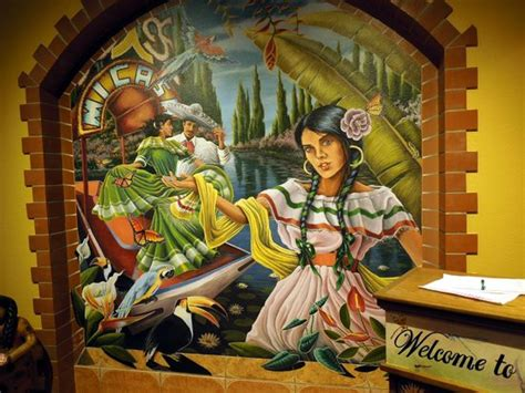 Mexican Mural Artists by Beautiful Murals By Yulner Diaz Picture Of Mi Casa