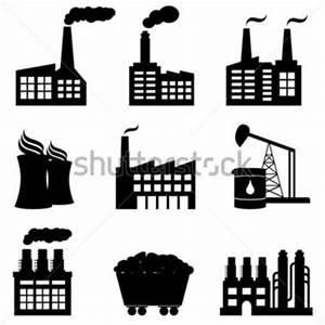 공장, 석유 시추, 원자력 발전소 및 에너지 아이콘 스톡 벡터 - Clipart.me
