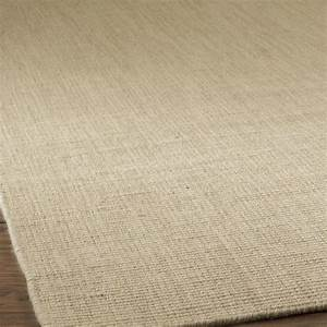 Solid color wool sisal look rug available in 4 colors for Wool sisal carpet
