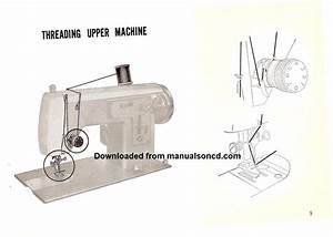 Sewing Machine Threading Instruction Archives