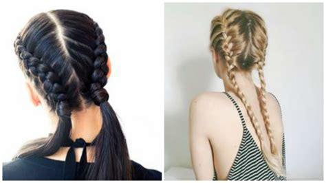 trecce capelli tutorial  tantissime inspirations