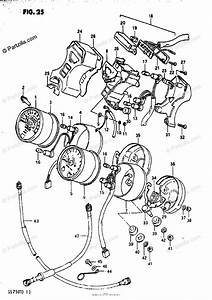 Suzuki Motorcycle 1982 Oem Parts Diagram For Speedometer