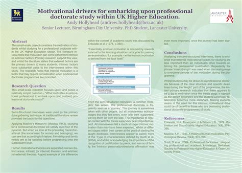 Literature Review For Poster Presentation South Florida