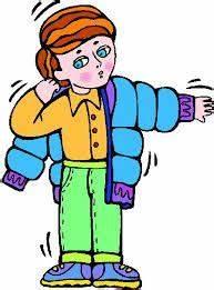 Coat clipart boy put - Pencil and in color coat clipart ...