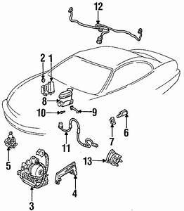 Buick Riviera Vacuum Switch Retainer  1992