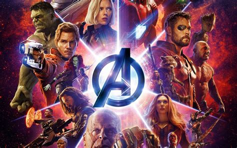 wallpaper avengers infinity war superheroes marvel