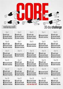 Core workout 30 day Challenge! | Fitness | Pinterest ...