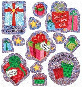 Jesus is the Best Gift Stickers by SmileyMe
