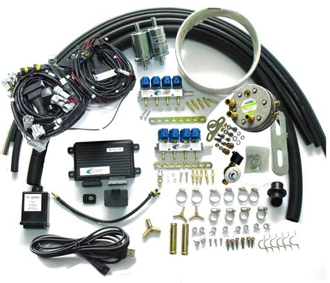 lpg sequential injection system conversion kits for 8 cylinder gasoline fuel injected cars jpg