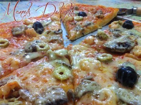 pizza 224 la p 226 te magique manel s delights