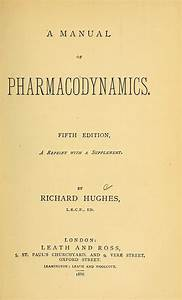A Manual Of Pharmacodynamics