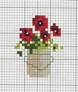 Gráfico de ponto cruz. miniature needlework chart ...