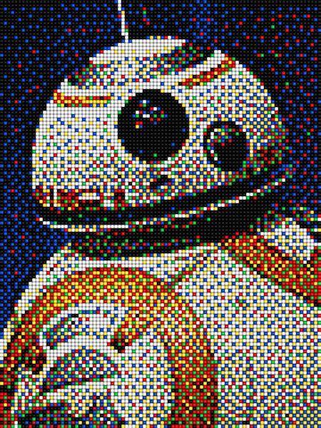 bb star wars  pixel art quercetti star wars