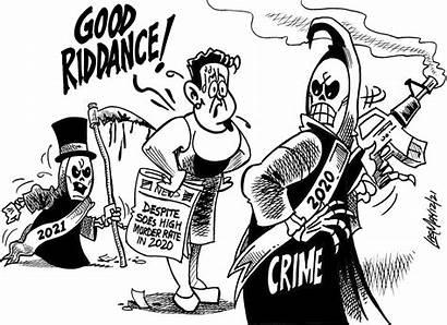 Jamaica January Gleaner Tuesday Cartoon Cartoons