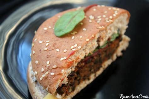 cuisiner des lentilles vertes le burger de lentilles vertes du puy aoc juste bluffant