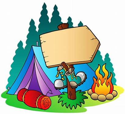 Clipart Camping Pink Transparent Scene Webstockreview Class
