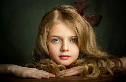 Face Blonde Portrait Lovely Olga Boyko