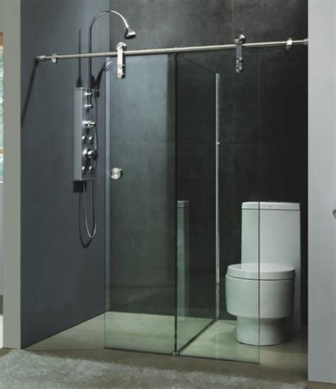 unique shower door ideas sliding shower door is unique bathroom vanities ideas