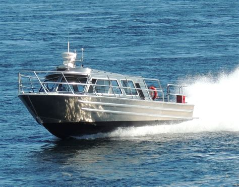 Aluminum Boats by New 31 Crew Boat Water Taxi With Surface Drive