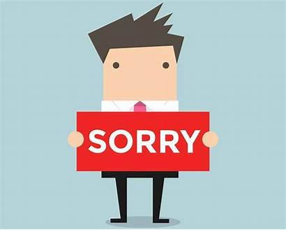 Sorry Oops Apologizing Face Sign Vector Holding