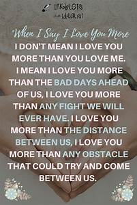 I Love You More Than Quotes Pictures