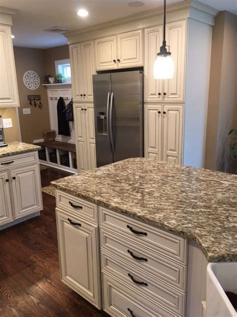 waypoint living spaces cabinetry  hazelnut glaze
